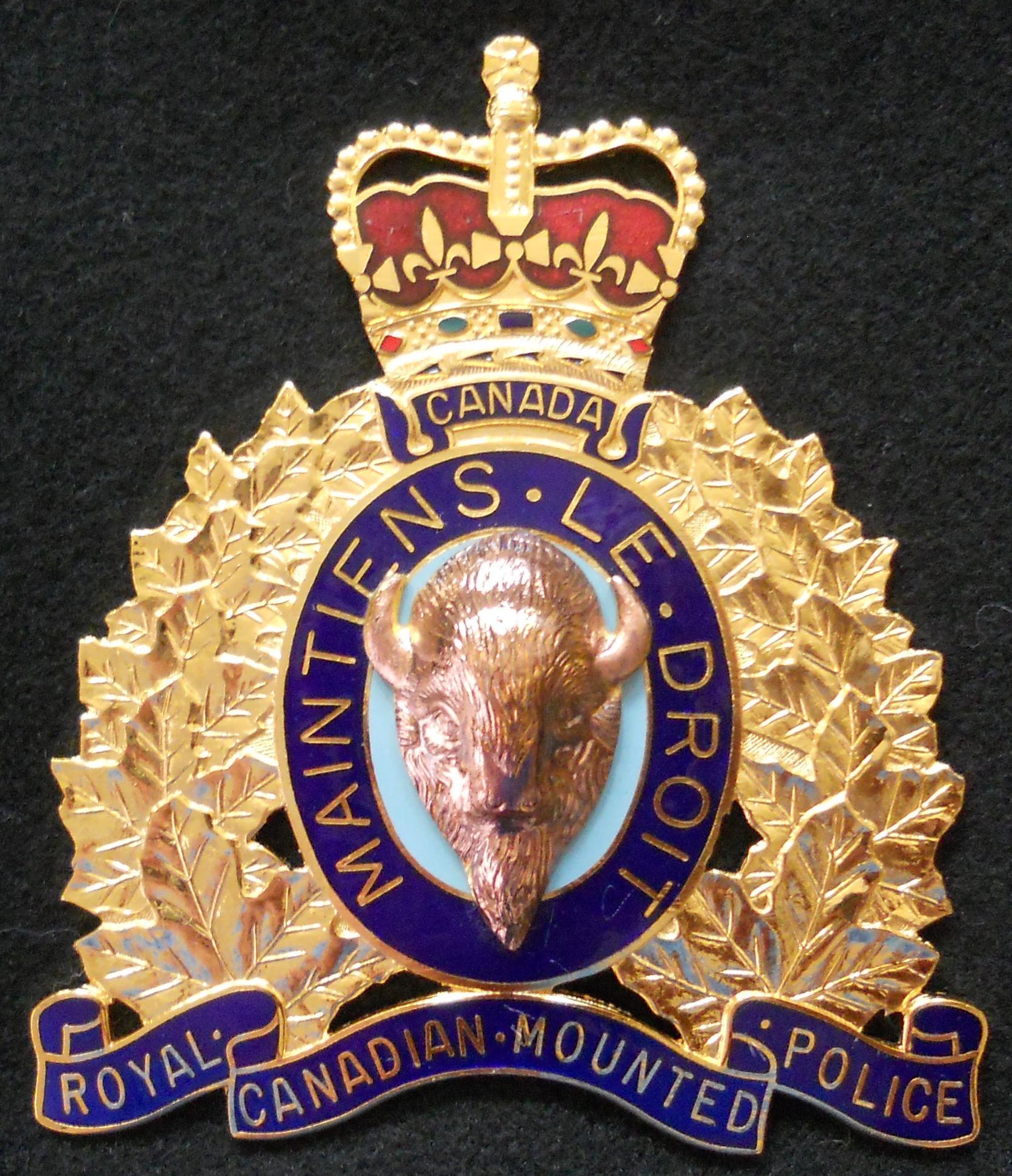 RCMP insignia