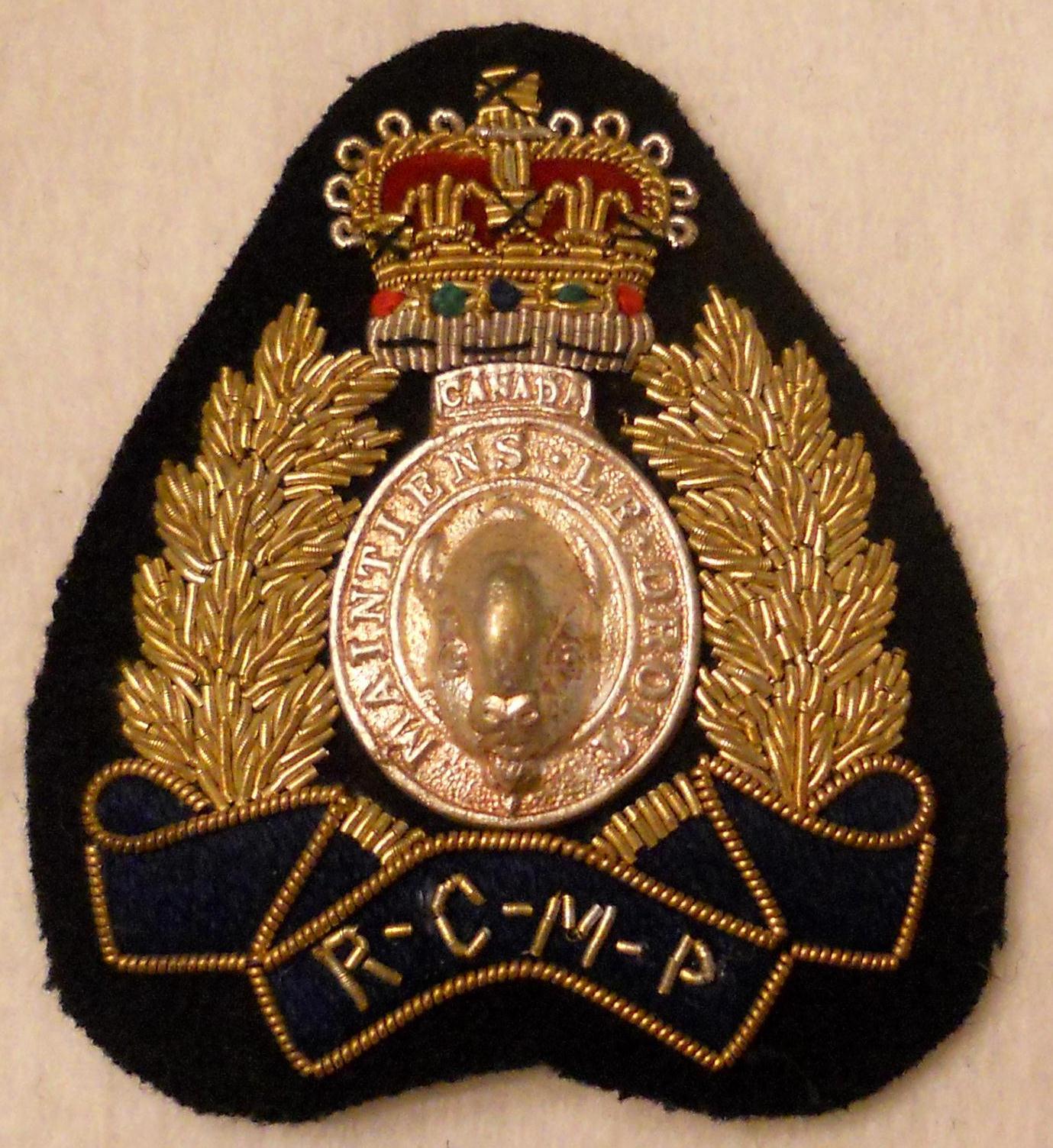 badge officer hat